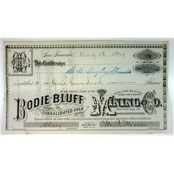 Trio of Texas Shipping Related Stock Certificates, ca.1850-1920