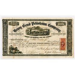 Henry Bend Petroleum Co., 1865 Stock Certificate