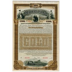 Southern Pacific Railroad Co., 1893 Specimen Bond