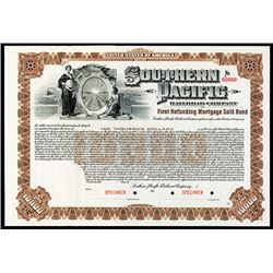 Southern Pacific Railroad Co. Specimen Bond.