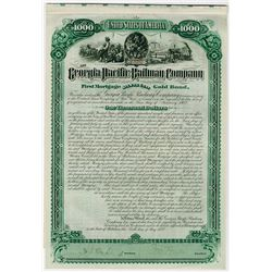 Georgia Pacific Railway Co., 1882 Issued Bond
