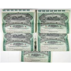 Indiana, Decatur and Western Railway Co., 1895 Bond Quintet