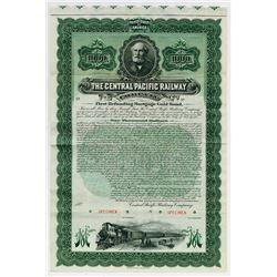 Central Pacific Railway Co., 1899 Specimen Bond