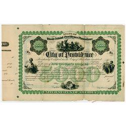 City of Providence, 1868 Specimen Bond