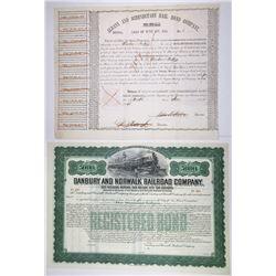 North East Railroad Bond Duo, ca.1848-1905