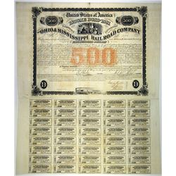 Ohio & Mississippi Rail Road Co., 1856 I/U Bond