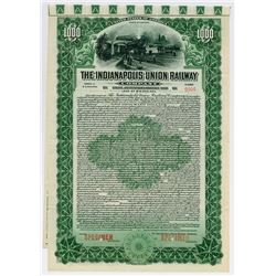 Indianapolis Union Railway Co., 1915 Specimen Bond