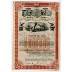 Staten Island Railway Co., 1893 Specimen Bond