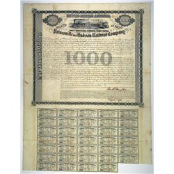 Painesville and Hudson Railroad Co., 1856 I/U Bond