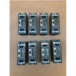 (8) Siemens 1P 6ES7 972-0AA01-0XA0 Repeater