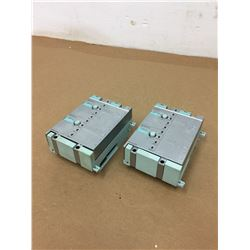 (2) Siemens 6GT2002-1HD00 Connecting Block & Simatic RF170C 6GT2002-0HD00 Communication Module