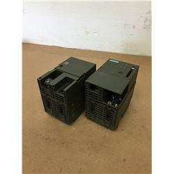 (2) Siemens 1P 6ES7 307-1EA00-0AA0 & 1P 6ES7 315-2AF03-0AB0 Power Supply Modules