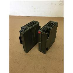 (2) Siemens 1P 6ES7 321-1BH02-0AA0 Input Module