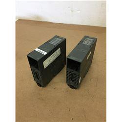 (2) Siemens 1P 6ES7 158-0AD01-0XA0 DP/DP COUPLER
