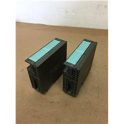 (2) Siemens 1P 6ES7 322-1HH00-0AA0 Module