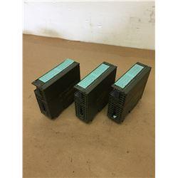 (3) Siemens 1P 6ES7 321-1BH02-0AA0 Module