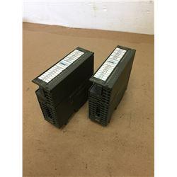 (2) Siemens 1P 6ES7 322-1BH01-0AA0 Output Module