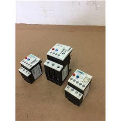 (3) Siemens 3RU1136-4EB0 & 3RU1116-1KB0 & 3RU1116-1AB0 Contactor