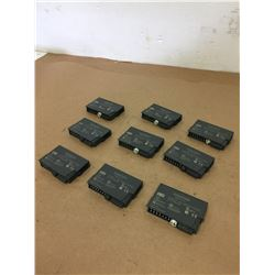 Lot of 9 Siemens 1P 6ES7 Simatic S7 *SEE PICS FOR PART #s*