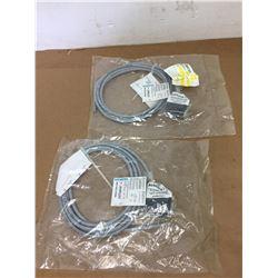 (2) Siemens 3RK1902-0CM00 Cables
