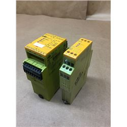 Lot of 2 Pilz Relay *See Pics for Part Numbers*