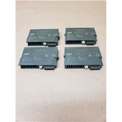 Lot of (4) SIEMENS 6ES7 134-4FB00-0AB0 and 6ES7 135-4FB00-0AB0 SIMATIC S7 POWER MODULE