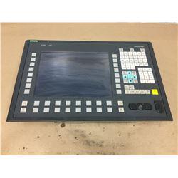 Siemens 1P 6FC5203-0AF02-0AA0 Sinumerik Operator PanelFront w/ 1P 6FC5210-0DF02-0AA0 PCU50