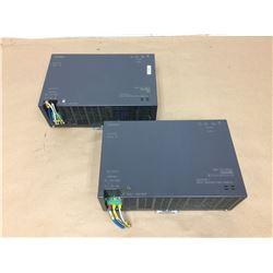 (2) Siemens 1P 6EP1437-2BA10 SITOP Power 40