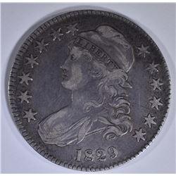 1829 BUST HALF DOLLAR VF/XF