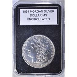 1891 UNC MORGAN DOLLAR