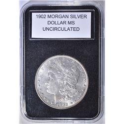 1902 MORGAN DOLLAR  UNC