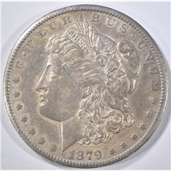 1879-CC CAPPED DIE MORGAN DOLLAR  AU