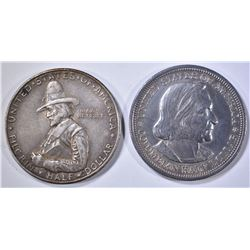 1892 COLUMBIAN EXPO HALF DOLLAR BU &