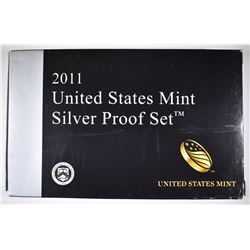 2011 U.S. SILVER PROOF SET ORIG PACKAGING