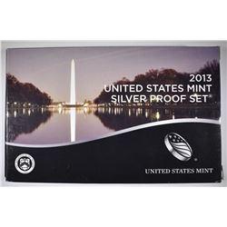 2013 U.S SILVER PROOF SET ORIG PACKAGING