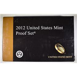 2012 U.S. PROOF SET IN ORIG PACKAGING