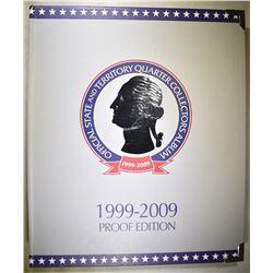 1999-2009 PROOF QUARTER SET IN ALBUM