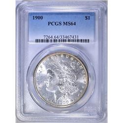 1900 MORGAN DOLLAR   PCGS MS-64