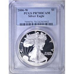 2006-W ASE PCGS PR-70 DCAM