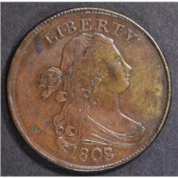 1808/7 HALF CENT  AU