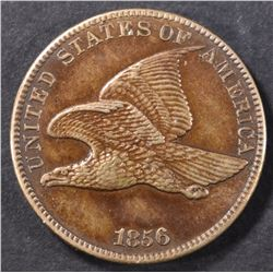 1856 FLYING EAGLE CENT  PROOF