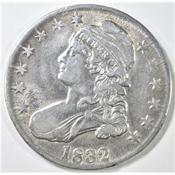1832 BUST HALF DOLLAR  CH AU