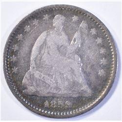 1859-O SEATED HALF DIME,  F/VF