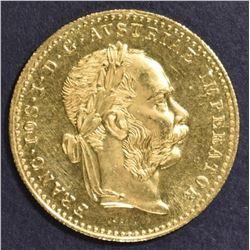 1915 AUSTRIAN 1 DUCAT GOLD