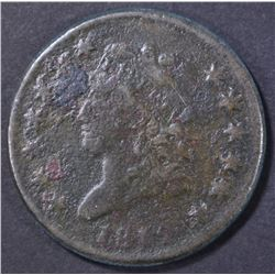 1812 LARGE CENT, AG corrosion