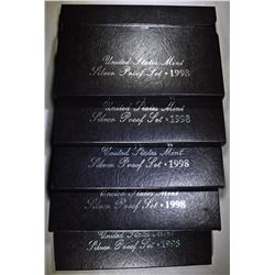 5-1998 U.S. SILVER PROOF SETS