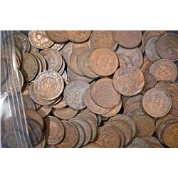 131-MIXED DATE AVE CIRC INDIAN HEAD CENTS