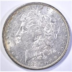 1880-O MORGAN DOLLAR, CH BU