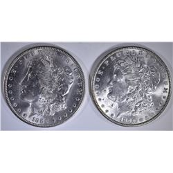 1888-O & 1890 CH BU MORGAN DOLLARS