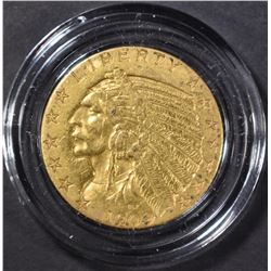 1909-D $5 GOLD INDIAN XF